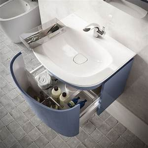 meuble salle bain bois design ikea lapeyre cote maison With meuble de salle de bain ideal standard