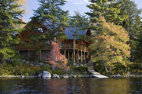 Haus Kaufen Rocky Mountains Usa by Islands For Rent Log House At Johns Back Lake