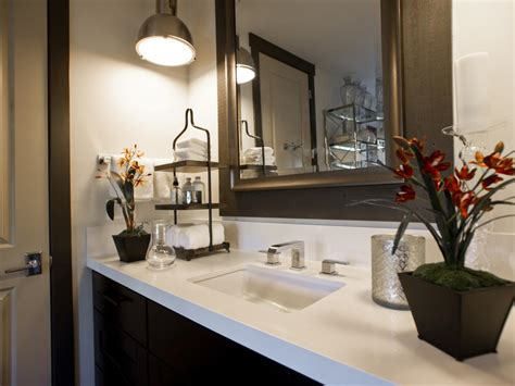 counter decorating ideas photo page hgtv Bathroom