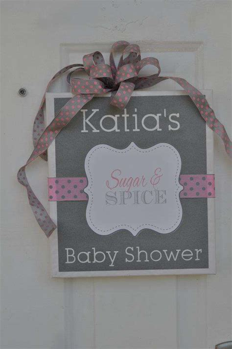 sugar  spice baby shower party ideas photo