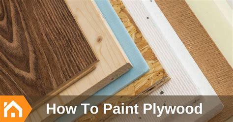 paint plywood    color diy houze