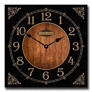 Anthone, Fancy, Square, Wall, Clock