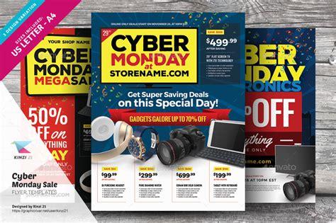 cyber monday sale flyer templates  kinzi graphicriver