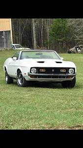 1st gen white 1971 Ford Mustang Mach 1 convertible For Sale - MustangCarPlace