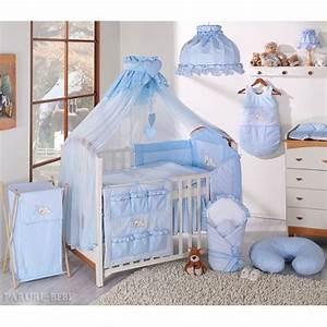 Tour Lit Bébé : linge de lit pour bebe parure de lit 6 ps ciel de lit tour ~ Teatrodelosmanantiales.com Idées de Décoration