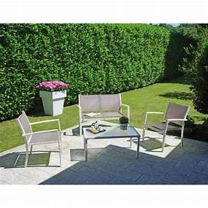 Ensemble De Jardin Pas Cher : ensemble de jardin compos de 2 fauteuils 1 canap 2 ~ Dailycaller-alerts.com Idées de Décoration