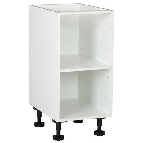 order kitchen cabinets kaboodle kitset 400mm base carcase white bunnings warehouse 3768