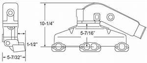 Manifold Exhaust Kit For Indmar Gm 305 5 0l 350 5 7l V8 3 Inch Outlet  Bpisbcind