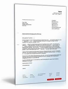 Kündigung Mietvertrag Nachmieter Vorlage : au erordentliche k ndigung mietvertrag k ndigung vorlage ~ Frokenaadalensverden.com Haus und Dekorationen