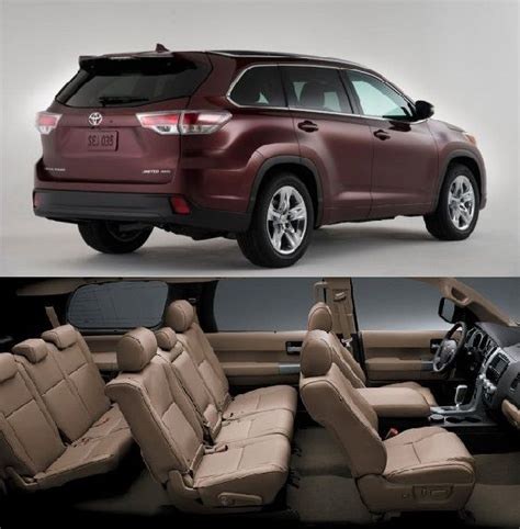 toyota sequoia platinum  row seats suv cars  row