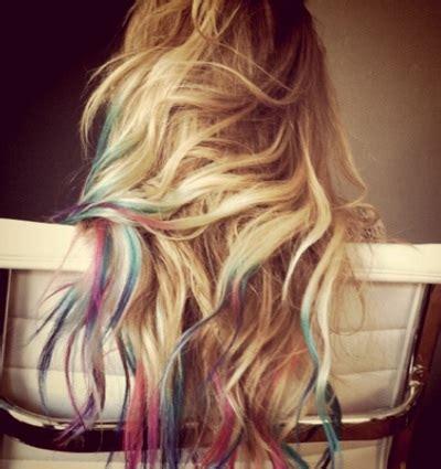 julis place unnatural fun hair color