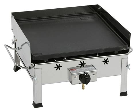 plancha gaz inox et fonte avec r 233 chaud tom press