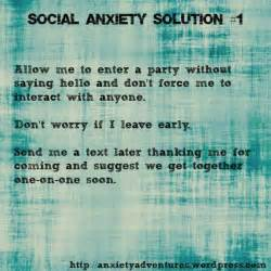 Social Anxiety Solution