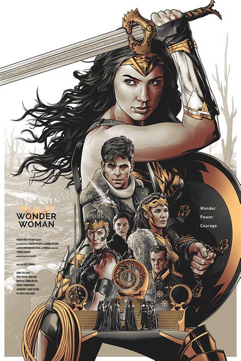 Wonder Woman  Alternative Movie Poster By Amien Juugo On