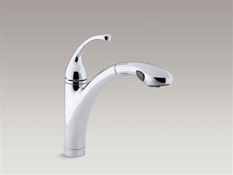 Kohler Forte Pull Out Spray Kitchen Faucet Texture Walls With Paint Exterior Uk House Interior Colours Metallic Wall Martha Stewart Textured Home Colors Design And Tan