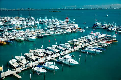 Miami Boat Show Water Taxi Locations by Rick Obey And Associates At Miami Boat Show 2015