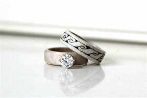 wedding rings ocean inspired engagement rings nautical With mens nautical wedding rings