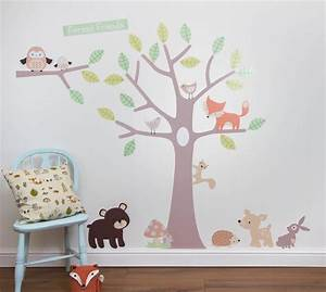 forest nursery wall decals thenurseries With forest wall decals