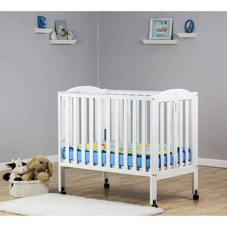 cheap portable crib on me 2 in 1 folding portable crib white walmart