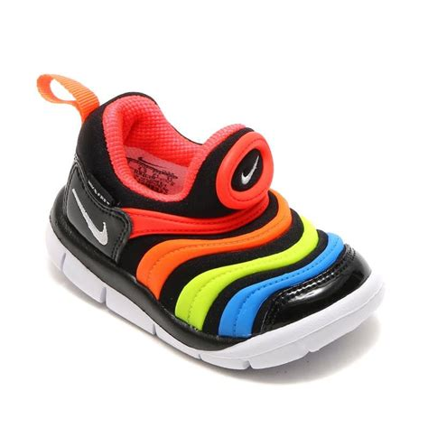 rubberized rainbow sneakers baby style toddler nike