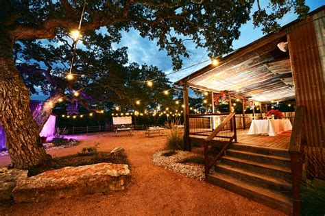 rustic texas hill country wedding venue sisterdale