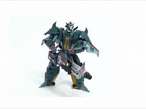 Transformers Prime Custom Repaint Skyquake - YouTube