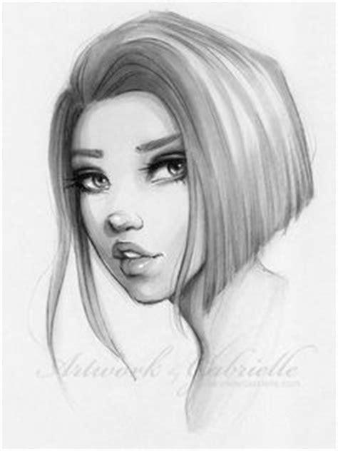 gallery female long nose pencil drawing drawings art