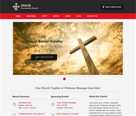 Free Church Themes Free Themes For Churches Vandelay Design