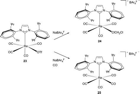 Cationic Rhenium Complexes Ligated With Nheterocyclic