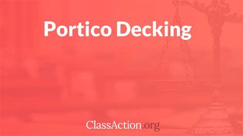 portico decking problems spotting complaints