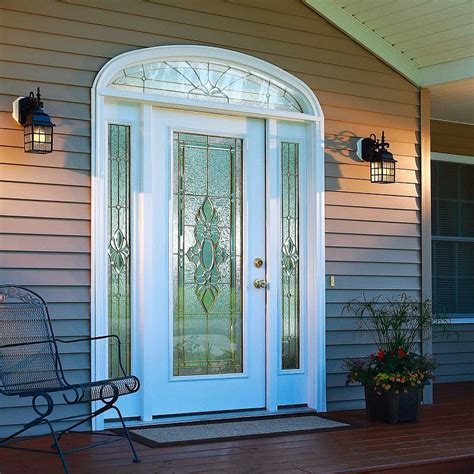 decorative glass doors exterior doors with glass in new look door