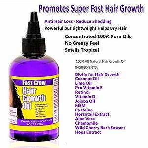 Fast Grow Hair Growth Oil 4 Oz Import It All