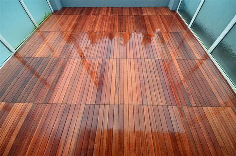well made wood deck tiles cement patio