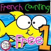 FREE FRENCH Counting Worksheet   French teaching resources ...