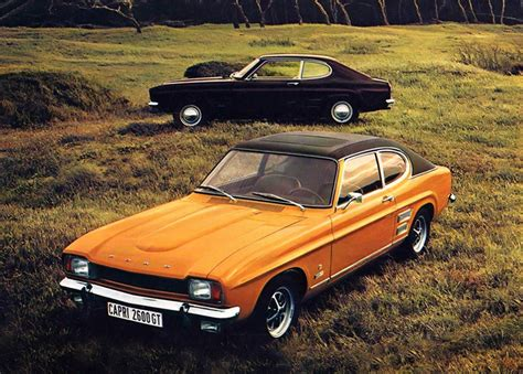 The cars : Ford Capri development story - AROnline