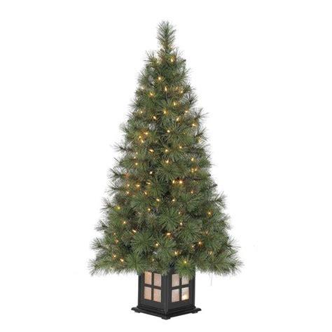 holiday living 4 ft pre lit scott pine artificial