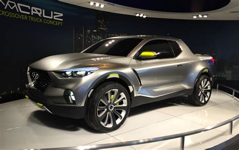 naias hyundai santa cruz crossover concept debuts
