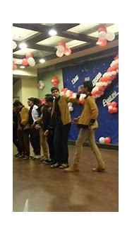 Mayur and group dance at nct school - YouTube