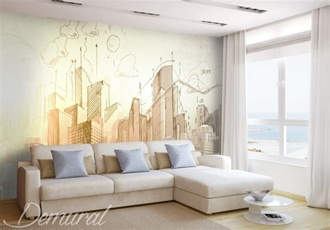 modele de chambre peinte architect s notebook architecture wallpaper mural