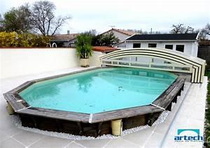 Piscine Semi Enterrée Composite : stunning piscine composite semi enterr e contemporary ~ Dailycaller-alerts.com Idées de Décoration