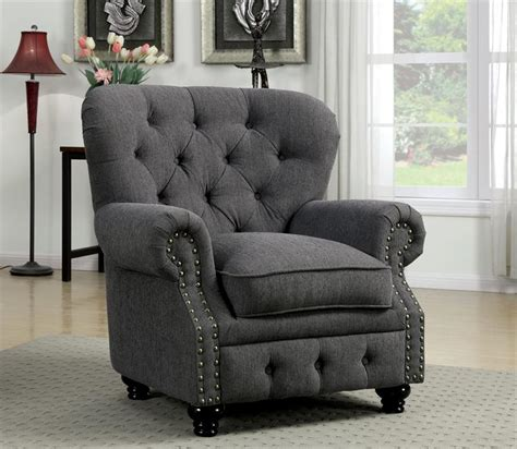 Gray Sofa Chair by Stanford Gray Sofa Collection Cm6269gy