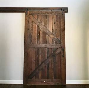 reclaimed wood barn doors baltimore md sandtown millworks With barn door installation video