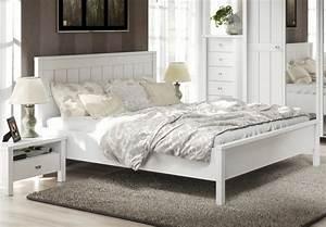Schlafzimmer Weiß Landhaus : bett 180x200 brighton schlafzimmer landhaus doppelbett weiss matt ebay ~ Sanjose-hotels-ca.com Haus und Dekorationen
