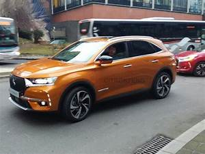 Suv Citroen Ds7 : new ds7 crossback mid size suv captured undisguised new photos carscoops ~ Melissatoandfro.com Idées de Décoration
