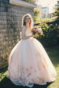 7 most beautiful floral wedding dresses ever vowslovecom With flower dress for wedding