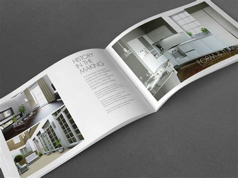 property pamphlet high end property brochure greys inn road