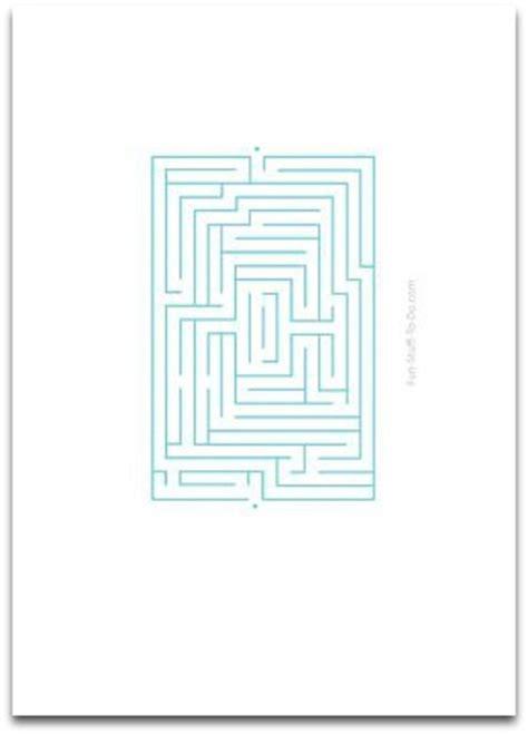 easy mazes fun activities  children