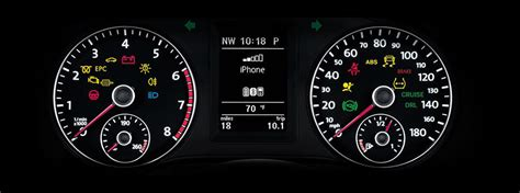 volkswagen dashboard warning lights  symbols