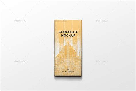 Free packaging wrapper mockup psd. Packaging Chocolate Mock-Up by PuzzlerBox | GraphicRiver