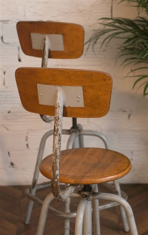 chaise haute solde vintage industrial highchairs designer